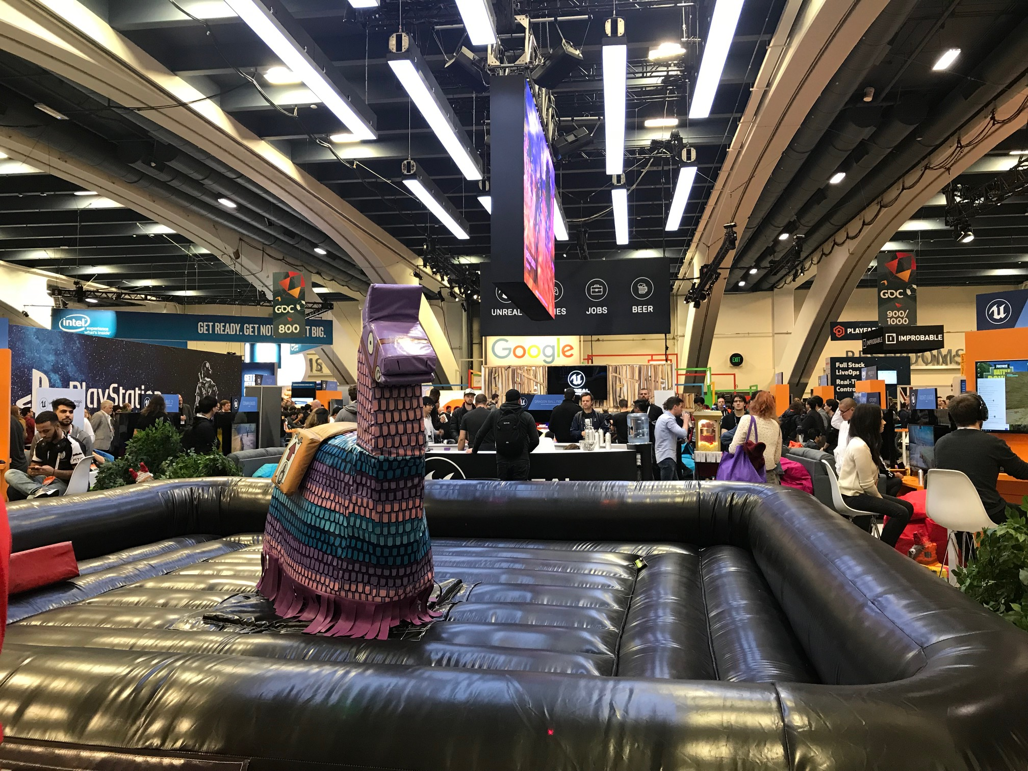 The GDC expo floor